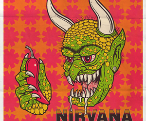 nirvana, pearl jam, and red hot chili peppers image