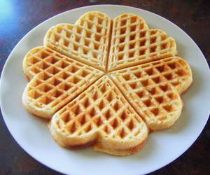 food, breakfast, and heart image