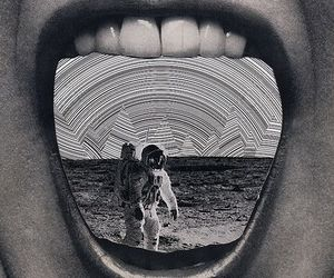astronaut and Collage image