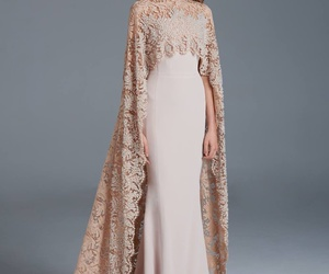 dress, paolo sebastian, and beauty image