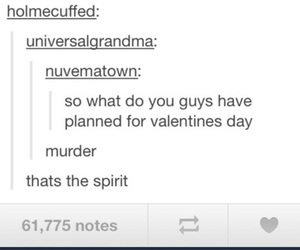 tumblr, funny, and murder image