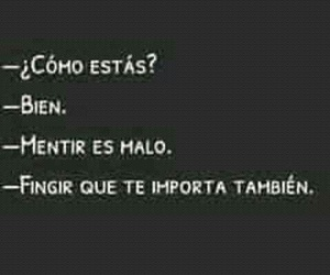 frases, triste, and mentiras image