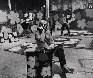 andy warhol, the factory, and aluminum foil image