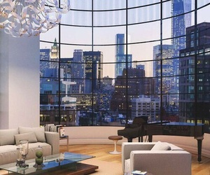 luxury, home, and city image