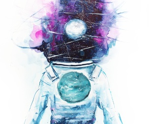 astronaut, grunge, and tumblr image