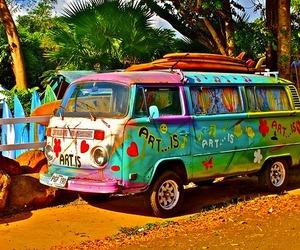 hippie, art, and summer image