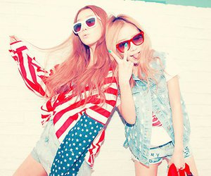 cool, korean girls, and pretty image