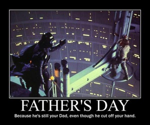 Anakin Skywalker, darth vader, and father image