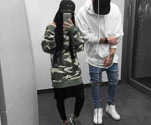 dope, fashion, and girl and boy image