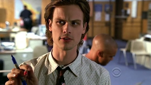 Dr Spencer Reid Matthew Gray Gubler Discovered By Ash Austin