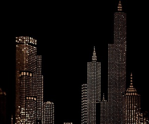 gold, dark, and city image