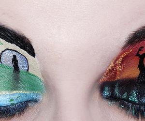 makeup, beautiful, and mulan image