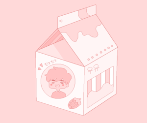 milk and pink image