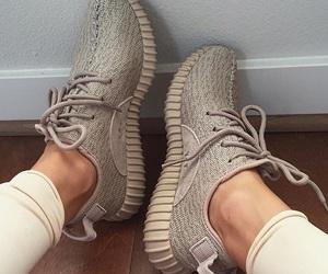 kanye west, adidas, and shoes image