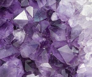 purple, crystal, and grunge image