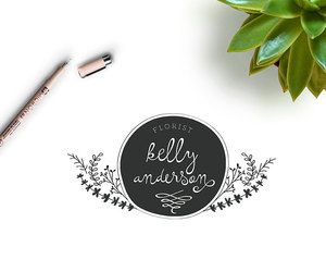 branding, etsy, and photography logo image