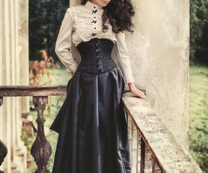 victorian, dress, and steampunk image