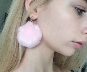 baby doll, earring, and fluffy image