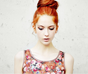 girl, red hair, and photography image