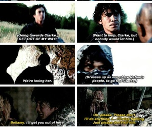 tvshow, clarke griffin, and the 100 image