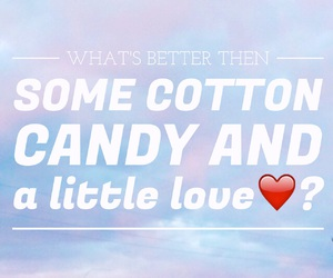 blue, cotton candy, and desserts image