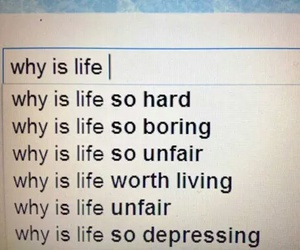 life, unfair, and boring image