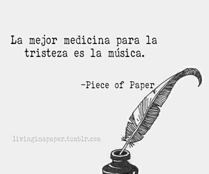 cancion, frases, and triste image