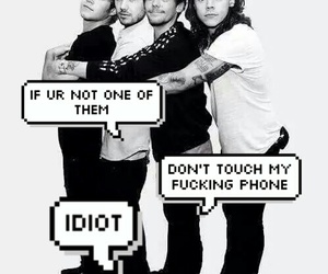 idiot, louis, and niall image