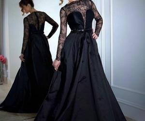 black swan, chic, and dress image