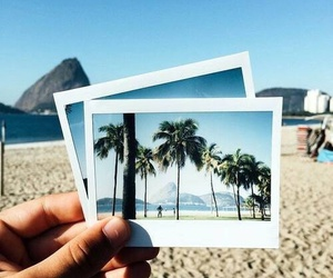 beach, summer, and photography image