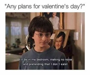 alone and Valentine's Day image