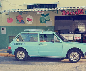 car, blue, and cute image
