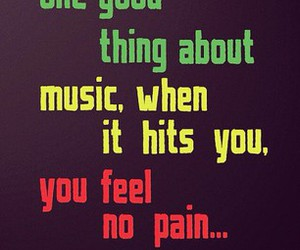 music, bob marley, and quote image