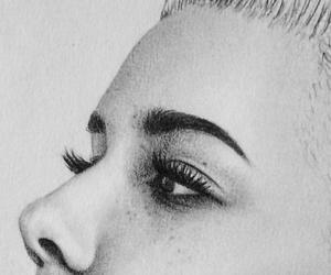 art, drawing, and halsey image