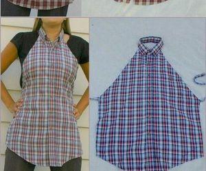 diy, apron, and shirt image