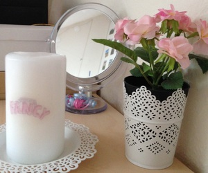 candle, deco, and decoration image