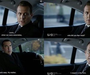 suits, harvey specter, and suitsusa image