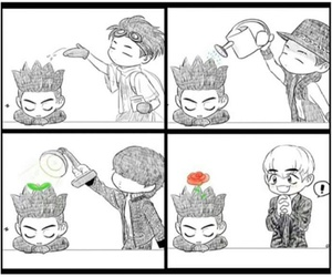 flower, gd, and gdragon image