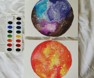 art, watercolour, and artist image