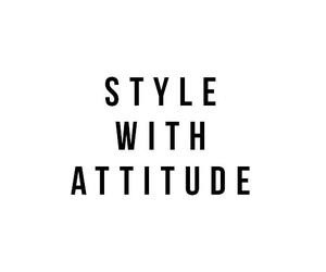 fashion, style, and attitude image