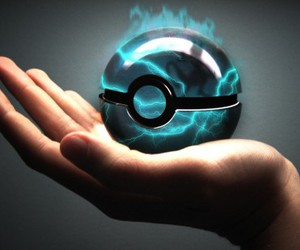 blue, pokeball, and pokemon image