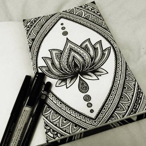 40 Images About Draw On We Heart It See More About Mandala