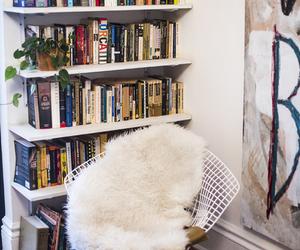 books, decor, and design image