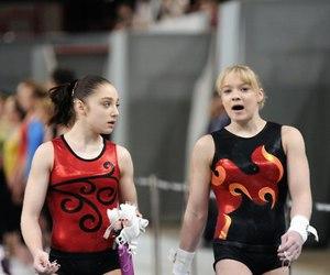 gymnast, russia, and gymnastics image