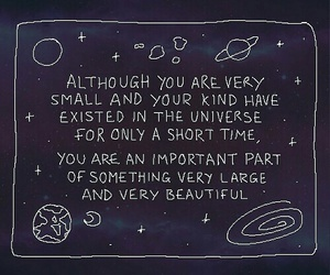 quotes, universe, and space image