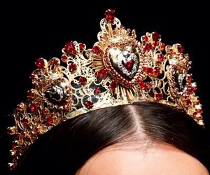 crown, D&G, and fashion image