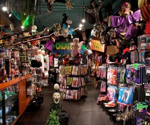 Halloween and store image