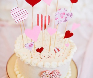 cakes, valentines, and Valentine's Day image
