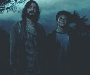 harry potter, sirius black, and hogwarts image