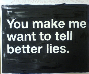 lies and text image